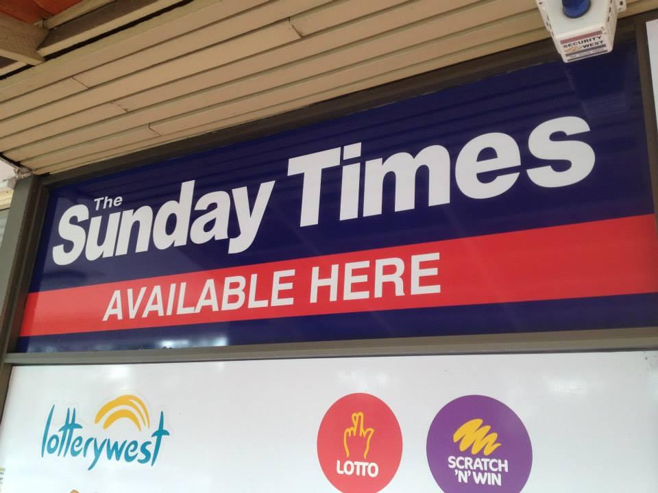 Sunday Times Window
